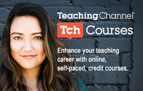 Ad Courses Woman on Left