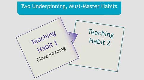 Developing Common Core Habits