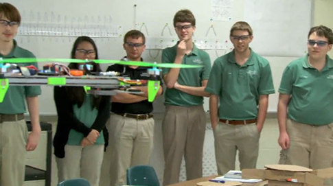 12 O'Quad High: Trigonometry in Flight
